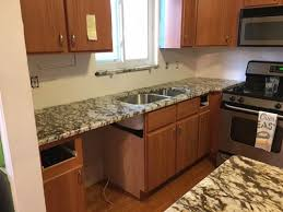 new countertops aruba dream granite our backsplash will be a white subway tile with what looks like slightly burned edges any suggestions please