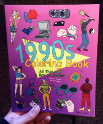 the 1990s coloring book all that and a box of crayons psych crayons