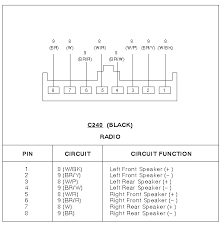 can i get a radio wiring diagram ford contour gl