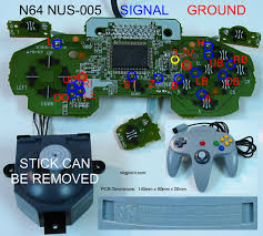 joystick controller pcb and wiring Mouse Schematic Joystick Schematic Diagram #38