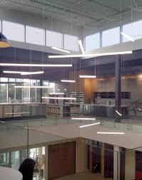 suspended linear lighting. LED Linear Suspended Tube Lights Lighting