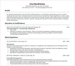 Resume For Cosmetology Student Cosmetology Student Resume Cosmetology Student Resume Templates