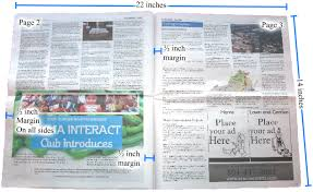 11x17 Newspaper Template Specifications For Printing Or Publishing A Newspaper Makemynewspaper