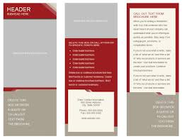 Blank Pamphlet Template Word Blank Pamphlet Template Word Sample Proposal Letter Free Tri Fold 19