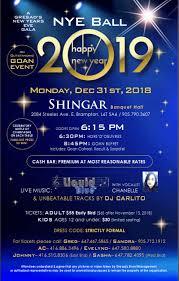 Gresad's New Years Eve Gala 2019 - Brampton, ON - southasian.events