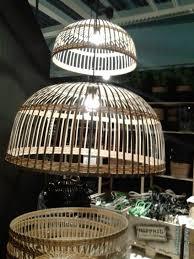 Ikea Bamboe Lamp Lampen Staand Klabb Staande Floor Lampenkap Bamboo
