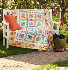 Quilt Patterns That Use 10-Inch Squares | AllPeopleQuilt.com & Garden Party Adamdwight.com