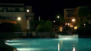 home swimming pools at night. Timelapse Of Swimming Pool In The Night Hotel, Hotels Night, At Luxury Hotel Illumination, Sea View Home Pools T