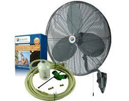 Amazoncom Misting Fans 24 Oscillating Patio Mist Cooling Fan