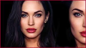 angelina jolie megan fox hybrid transformation makeup tutorial missjessicaharlow you