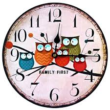 office wall clocks. Rustic Clocks For Sale Office Wall Large Modern Design Wooden Clock Owl Vintage Shabby Chic Home