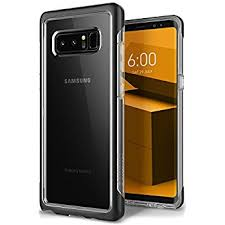 samsung note 8 case. galaxy note 8 case, caseology [skyfall series] slim transparent clear scratch resistant protective samsung case