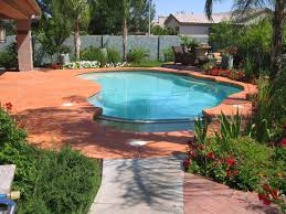 pool deck paint colorsPainted Concrete around Pool  Color Eclipse Painting  Photo