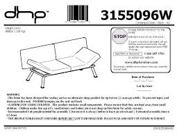 cool mainstays metal arm futon instruction manual