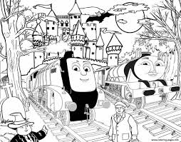 Thomas Trains Coloring Pages Thomas The Train Color Pages Coloring