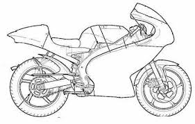 Kleurplaat Motor Scooter Ausmalbilder Ausmalbilder Motorroller Zum