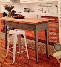 Kitchen Island Diy Diy Kitchen Island Using A Console Table And A Butcher Block Easy