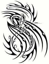 Tribal Dragon Tattoos вектор трайбл татуировки племенные тату и