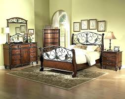 wood and iron bedroom furniture.  Iron Wood And Wrought Iron Bed Black  Bedroom Astounding   In Wood And Iron Bedroom Furniture Greenconshyorg