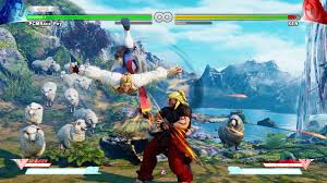 street fighter v new trailer showcases launch game modes
