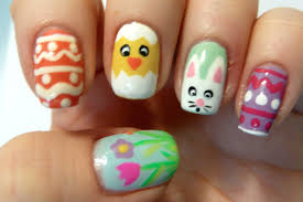 Joyous Easter Nail Designs Easy Easter Nail Art Ideas To Smartly ...
