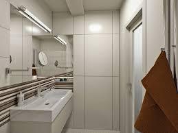 basement bathroom ideas pictures. Bathroom: Contemporary Basement Bathroom Ideas With Awesome Long Narrow Mirror Over Sink Neon Lights Pictures B