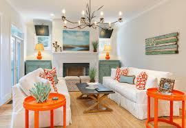 beachy living room. Bright Beach House Living Room Beachy
