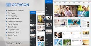Octagon Trendy News Magazine Html Template Themelock Com