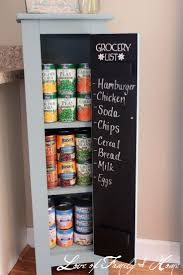 34 insanely smart diy kitchen storage ideas paint the long pantry door with chalk paint for my grocery list