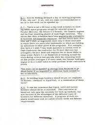 Evaluation Of Space Program Memorandum From Vice President