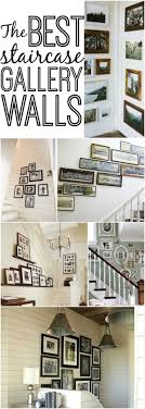Cottage Staircase Gallery Wall