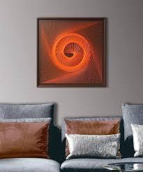 zen wall art zen wall art in orange string art abstract spiritual wall decor sacred geometry zen wall art