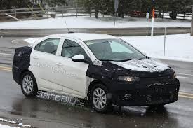 2018 chevrolet sonic. contemporary 2018 2018chevroletsonicsedanspyphotos05 for 2018 chevrolet sonic