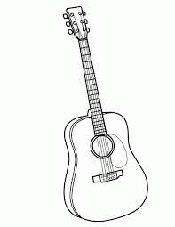 Free download 39 best quality guitar printable coloring pages at getdrawings. 30 Guitar Coloring Pages Free Coloring Page Site 194692 Guitar Coloring Home