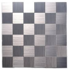 l and stick wall tiles ireland mosaic l and stick brushed stainless metal wall tiles set l