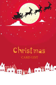 How To Address A Christmas Card Christmas Card List Christmas Card Address Book List Tracker For Holiday Card Mailings Send Receive Personalized Christmas Gift Size 6