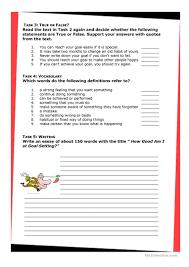 the art of goal setting worksheet esl printable worksheets the art of goal setting full screen