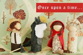 little red riding hood storytelling waldorf doll play set tutorial