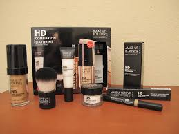 foundation starter kit uk the best tips make up for ever hd plexion starter kit in 128 almond so how about we put