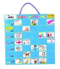 Doowell Activity Charts Doowell Activity Charts Magnetic Weekly Planner Chart