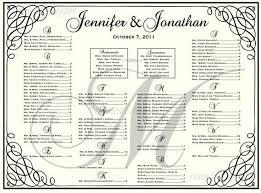 Wedding Chart Seating Template Seating Chart Poster Template Portablegasgrillweber Com
