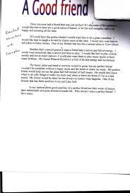 Friendship Essay Examples Helptangle