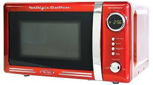 countertop microwave ovens nostalgia electrics retro series microwave oven microwave oven microwave