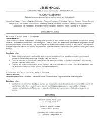 sample of resume with job description teacher assistant job description for resume best of resume teacher