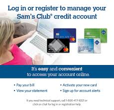 Manage Your Sams Club Credit Card Account