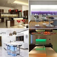 lighting sets. RGB, Colour Changing Under Cabinet Kitchen Lighting / Plasma TV LED Strip Sets E