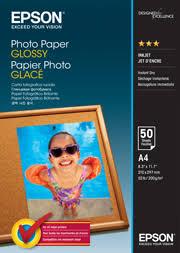 A4 Photo <b>Paper Glossy</b> - 50 Sheets (200gsm) - <b>Epson</b> New Zealand ...
