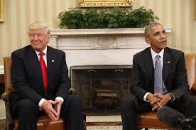 president in oval office. President Barack Obama Meets With President-elect Donald Trump In The Oval Office Of