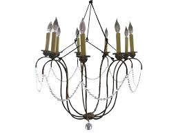 9 light crystal chandelier by nuevo portfolio linkhorn iron stone giverny candle style weeks the local