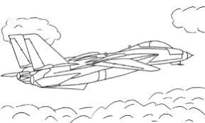Small Picture Planes Jet Coloring Page Air Force Jet Coloring Page Fighter